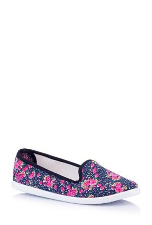 DeFacto Desenli Kanvas Ayakkabı E4735az