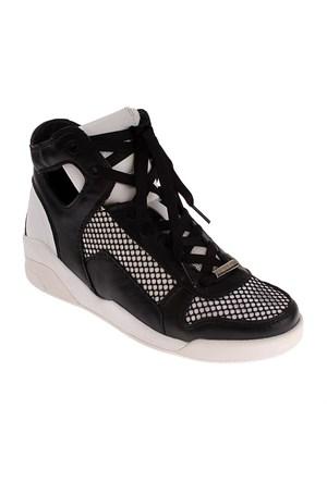 Dkny Carla Soft Calf/Kid Patent 23157919 Kadın Ayakkabı Whıte Black
