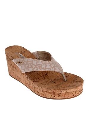 Dkny Lisa Logo Jacquard 23159936 Kadın Ayakkabı Hemp