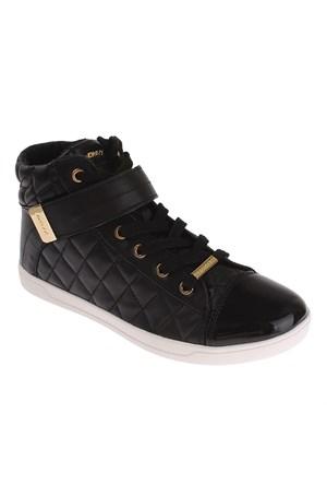 Dkny Betty Square Quilted Nappa Sheep Leather 23991658 Kadın Ayakkabı Siyah