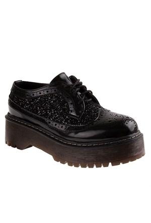 Fiorucci Fcih051 Kadın Ayakkabı Nero Glıtter