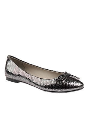 Pretty Nana Galaxy Metallic Pitone 181140 Kadın Ayakkabı Anthrezıte