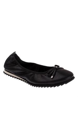Pretty Nana Shelly Rock 440230 Kadın Ayakkabı Siyah