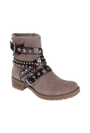 Pretty Nana Crosta 360111 Kadın Ayakkabı Grey