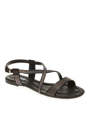 Pretty Nana Raso 182080 Kadın Ayakkabı Siyah