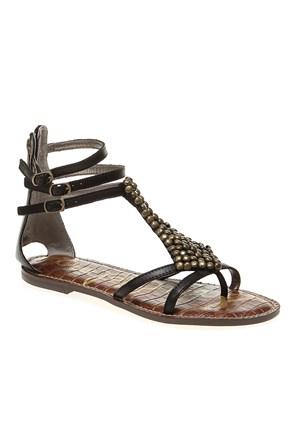 Sam Edelman Ginger 37620Li012 Kadın Ayakkabı Black Vaquero Saddle