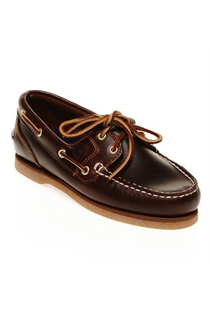 Timberland Amhrst F/L Boat Root Brown 72333 Kadın Bot Rootbeer Smooth