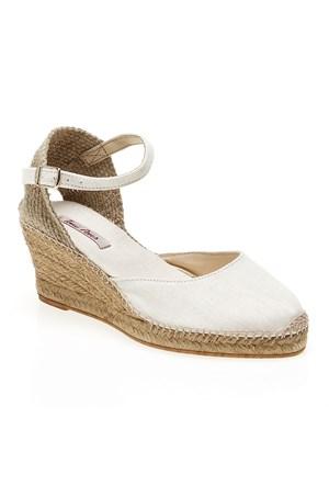Toni Pons Caldes Kadın Ayakkabı Ecru