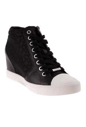 Dkny T&C Logo Jacquard 23992523 Kadın Ayakkabı Siyah