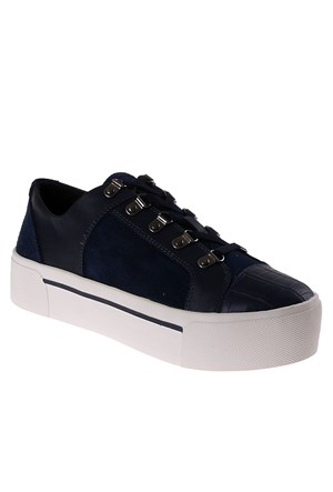 Dkny Silky Sheep Suede/Haircalf Leather 23353418 Kadın Ayakkabı Mavi