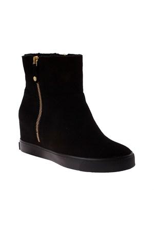 Dkny Silky Sheep Suede / Shearling 23353725 Kadın Ayakkabı Siyah
