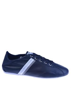 Bikkembergs Sport Relief 88.i Shoe M Leather Blue/White Bke107930 Erkek Ayakkabı Blue Whıte