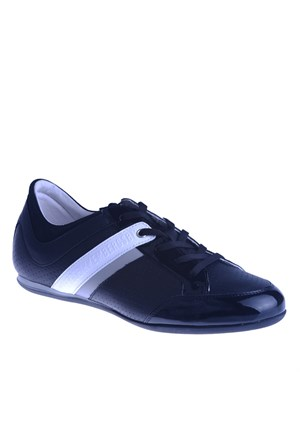 Bikkembergs Springer 370 i.Shoe M Patent/Leather Black/Grey Bke107828 Erkek Ayakkabı Black Grey