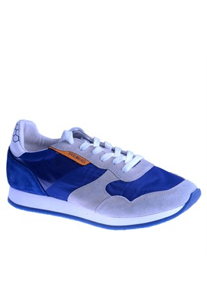 Bikkembergs Endurance 442 i. Shoe M Suede/Nylon Grey/Blue Bke108037 Erkek Ayakkabı Nylon Grey Blue