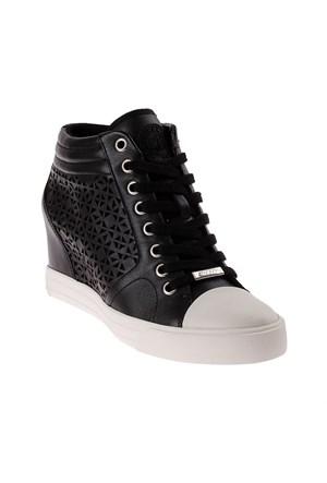 Dkny Cindy Triangle Perf Leather 23252547 Kadın Ayakkabı Siyah