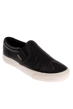 Dkny Beth Graphic Diamond Quilted N 23255125 Kadın Ayakkabı Siyah