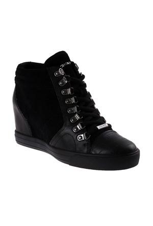 Dkny Soft Leather/Silky Sheep Suede 23352512 Kadın Ayakkabı Siyah