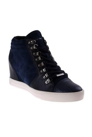 Dkny Soft Leather/Silky Sheep Suede 23352512 Kadın Ayakkabı Mavi