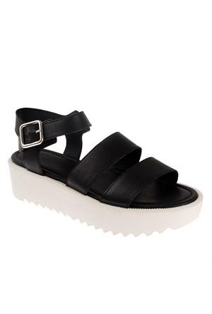 Frau Natural 92N3 Kadın Ayakkabı Siyah