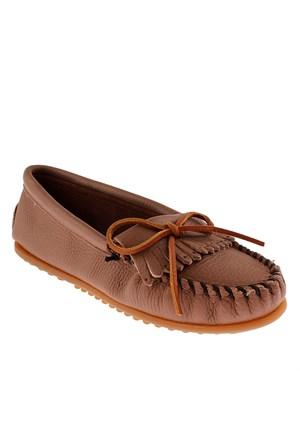 Minnetonka Deerskin Soft-T 62 Kadın Ayakkabı Morcha Deerskin
