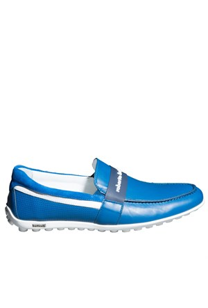 Roberto Botticelli Calz. Uomo Basse Bn12807 Erkek Ayakkabı Nappa Blu