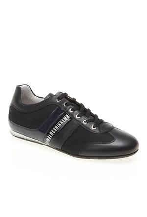 Bikkembergs Springer 12 L.Shoe M.Leather/Fabric Bke106575 Erkek Ayakkabı Blue