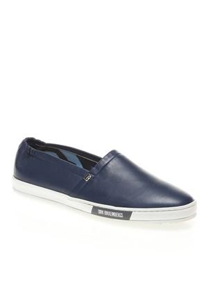 Bikkembergs New Star106 L Shoe M Leather Dbr102058 Erkek Ayakkabı Blue