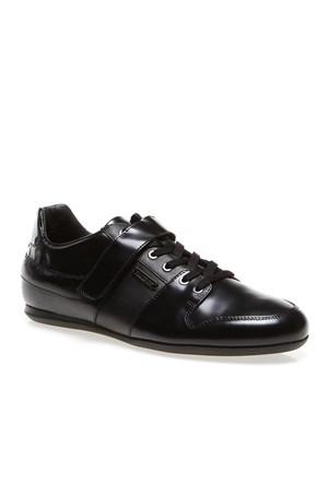 Bikkembergs Springer 156 L.Shoe M Bke107371 Erkek Ayakkabı Black Leather