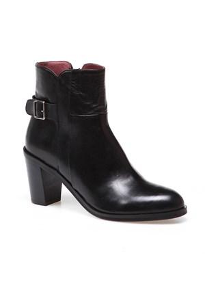 Frau Silk Nero 69M5 Kadın Ayakkabı Siyah