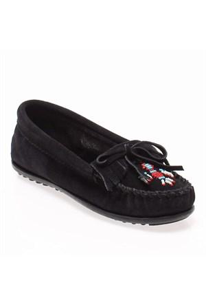Minnetonka Thunderbird 600 Kadın Ayakkabı Siyah