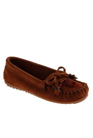 Minnetonka Feather Moc 462 Kadın Ayakkabı Brown