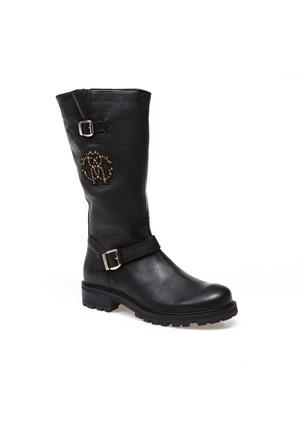 Roberto Cavalli Ca40943 Kadın Siyah Çizme
