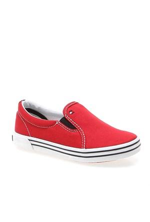 611 Tommy Hilfiger Slater 2D Fb56818996 Çocuk Ayakkabı 611 Tango Red