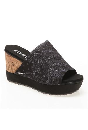 Dkny iris Bandana Print 23142366 Kadın Ayakkabı Siyah