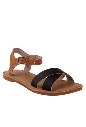 Timberland Ek Sheafe Ankle Strap 8732A Kadın Bot Black Dry Gulch Wıth Tan