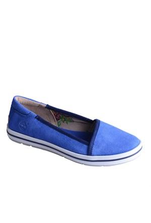 Timberland Ek Casco Bay Leather Slip On 8829A Kadın Bot Blue