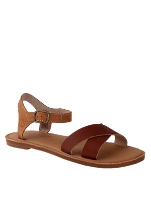 Timberland Ek Sheafe Ank Strp L Light Brown 8249B Kadın Strıpe Sandalet