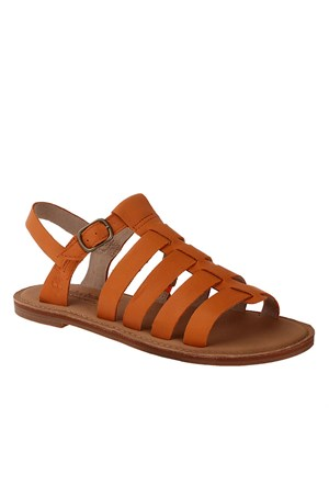 Timberland Ek Sheafe Fishrman A Orange 8415B Kadın Orange Sandalet