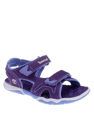 Timberland Advskr 2Strp Prp/Pnk Purple 2487A Çocuk Bot Purple With Periwinkle