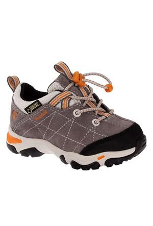 Timberland Trailfrc Btxbngox Gr Grey 3581A Çocuk Bot Grey With Orange