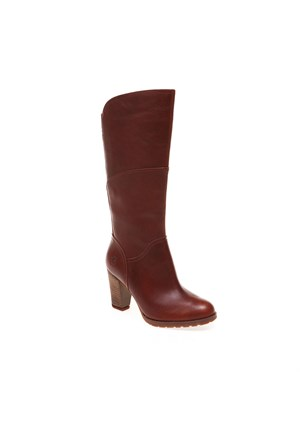 Timberland Stratham Heights Tall Zip Wp Boot 8611A Kadın Glazed Ginger Çizme