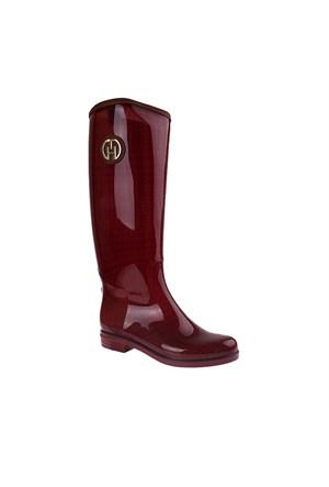 Tommy Hilfiger Fw56819931 Kadın Ayakkabı Bıkıng Red/Blk
