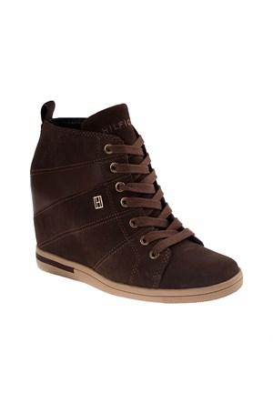 Tommy Hilfiger Fw56819716 Kadın Ayakkabı Mınk/Coffee