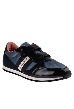 Tommy Hilfiger Fg56819751 Çocuk Ayakkabı Vıntage Indıgo/Mıdnıght