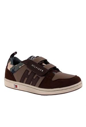 Tommy Hilfiger Fb56819707 Çocuk Ayakkabı Green Camo Webbıng