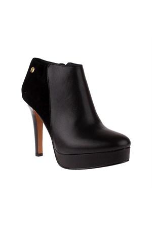Tommy Hilfiger Fw56819715 Kadın Siyah Topuklu Bot