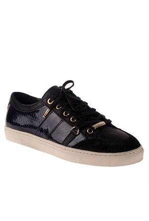 Tommy Hilfiger T1285ina 5Z Fw56820411 Kadın Ayakkabı Black Grey