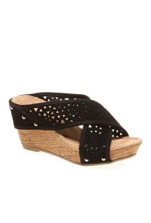 Minnetonka Lainey 71314 Kadın Ayakkabı Black Suede