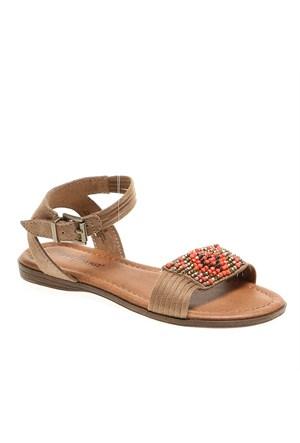 Minnetonka Bali 71315 Kadın Ayakkabı Taupe Suede