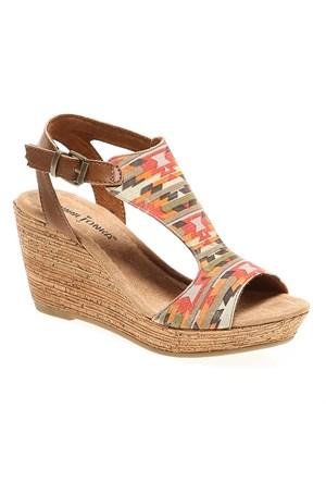 Minnetonka Duffy 71313 Kadın Ayakkabı Saddle Leather